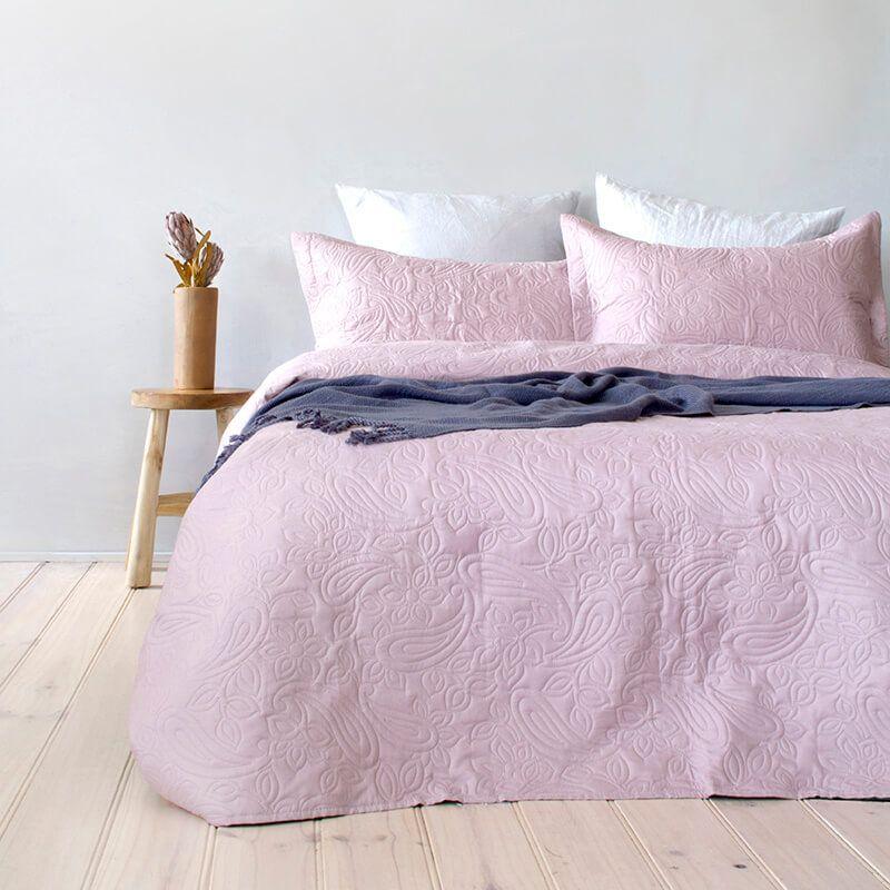dusk paisley coverlet bedcover pillow cases set