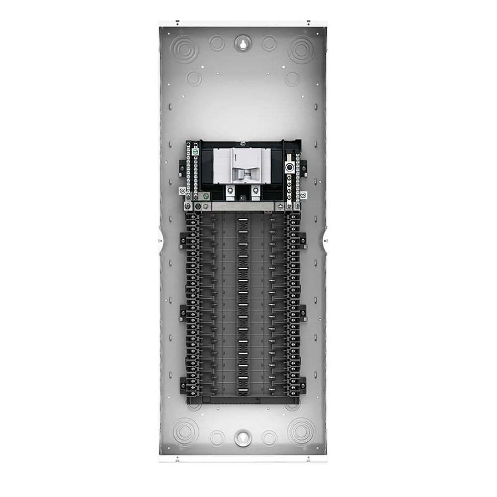 100 amp 30 space 30 circuit indoor load center enclosure with main c leviton [ 1000 x 1000 Pixel ]