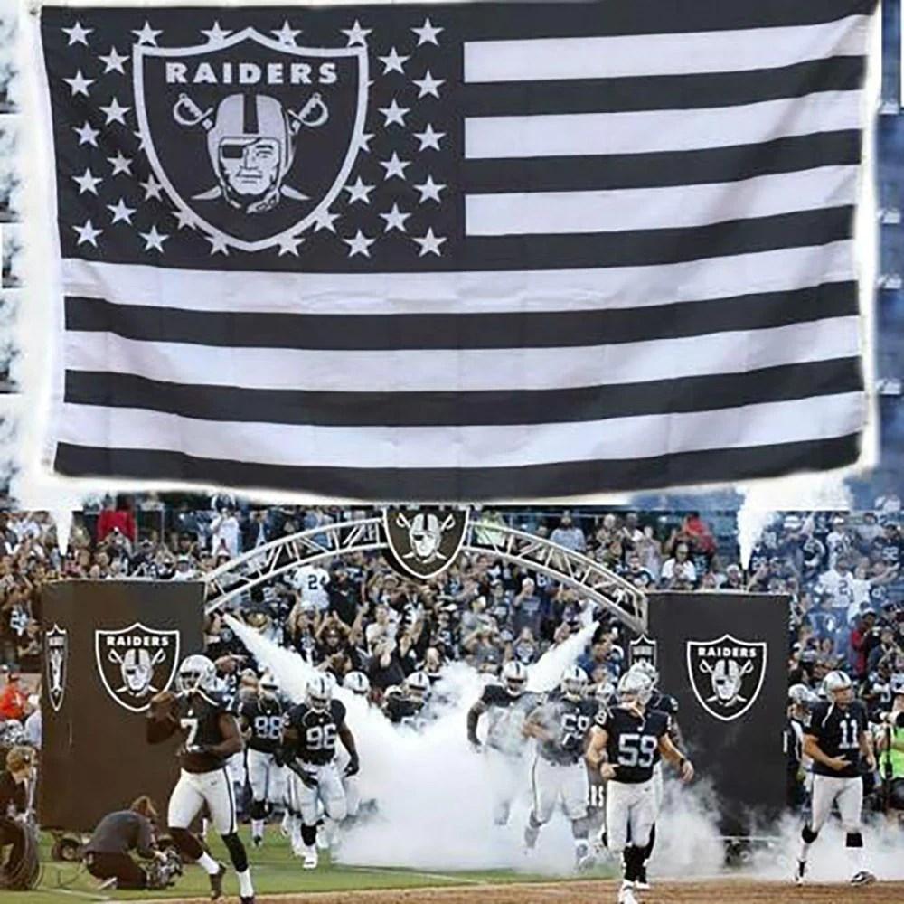 Oakland Raiders Flag Gear Gump