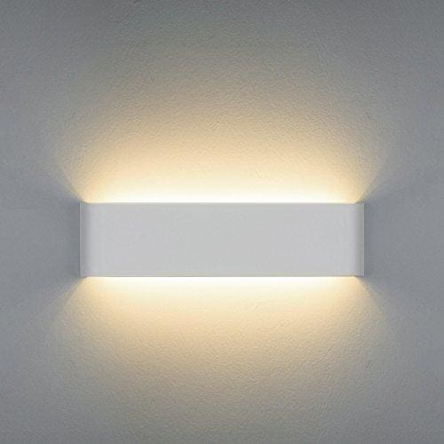 wall lamps for living room furniture small spaces netboat led light 12w up down lights lamp uplighter downlighter indoor perfect hallway bedroom bathroom corridor stairs