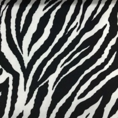 Zebra Print Chairs For Sale Folding Chair Caddy Safari - Baby Short Pile Velvet Upholstery Fabric By The Yard