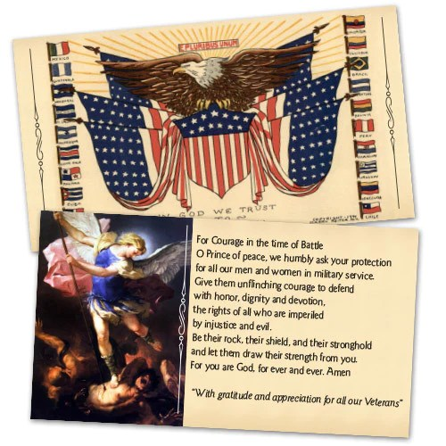 Holy Cards Full Of Grace Usa