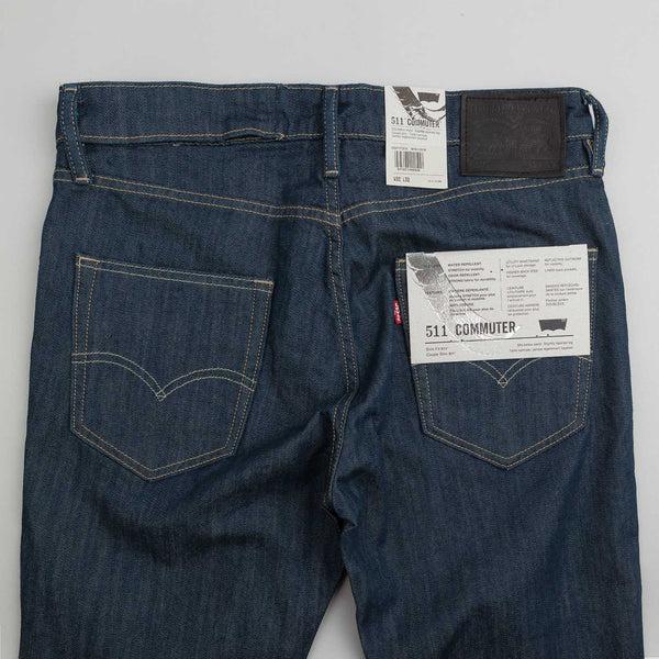 Levis Commuter 511 Slim Jeans  Deep Green Eco  Flatspot