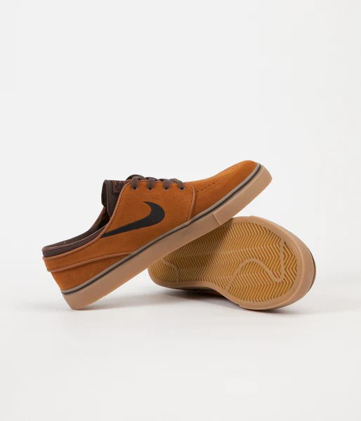 Bottoms Skate Brown Gum Shoes