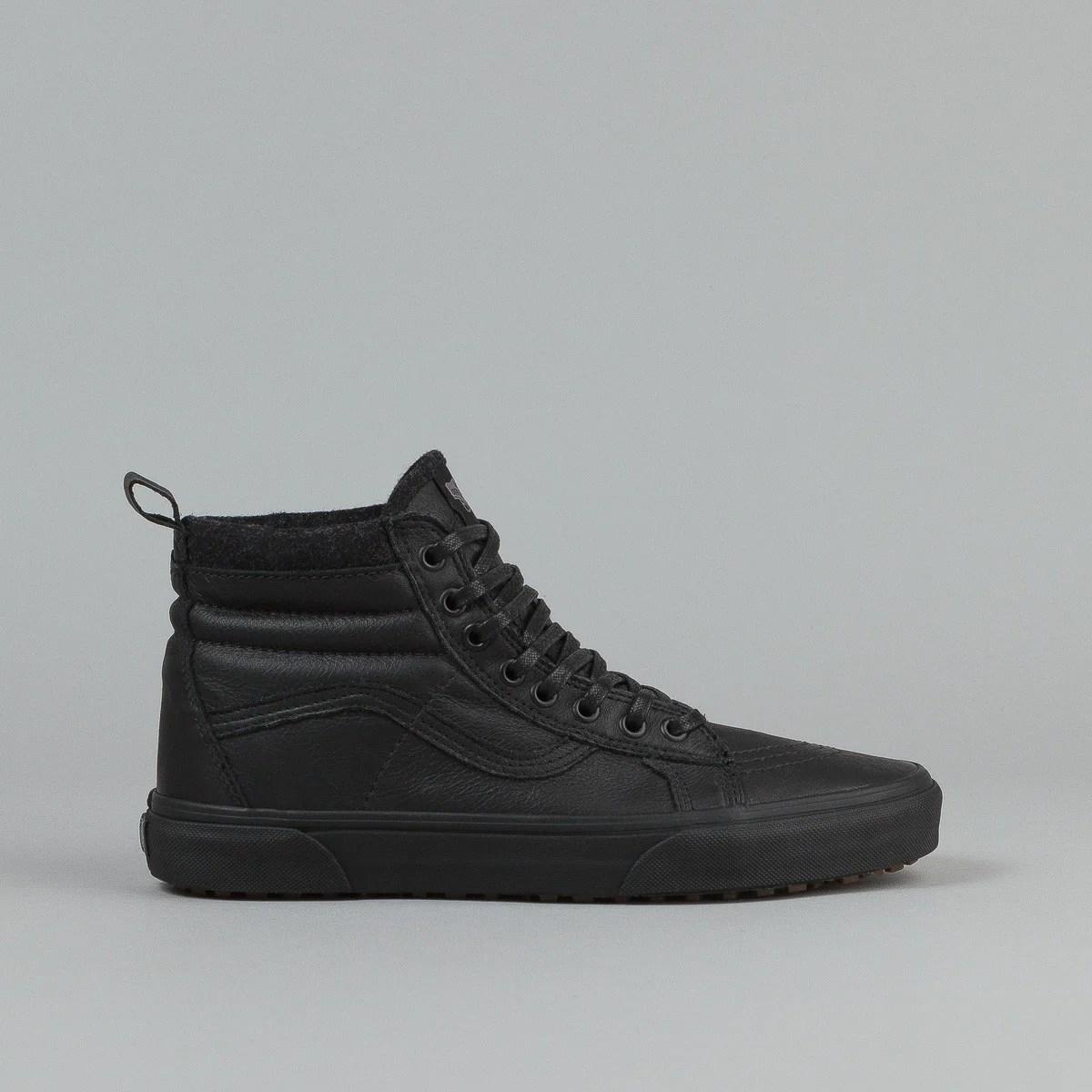 MTE Vans Sk8-Hi Black Leather
