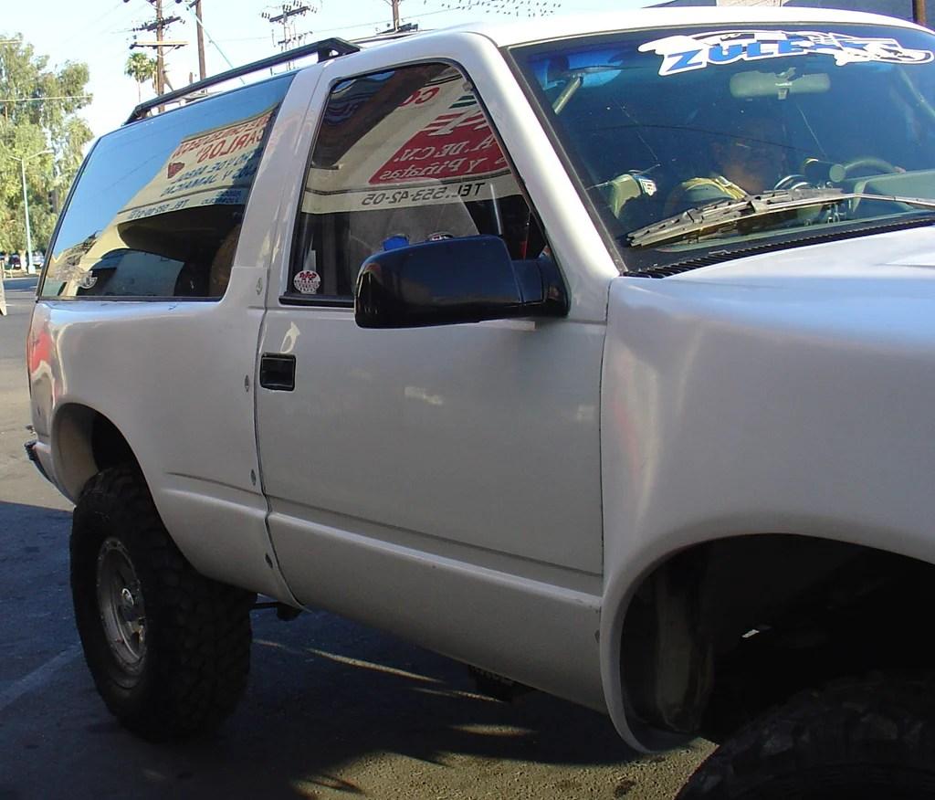 medium resolution of 92 00 chevy tahoe 2 door off road fiberglass bedsides mcneil racing inc