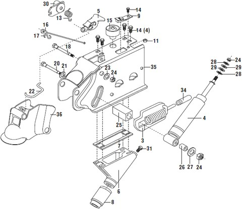 Trailer Breakaway Wiring Schematic Atwood Hydraulic Brake Actuator Parts List And Schematic