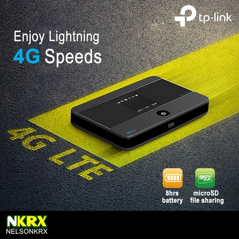 TP-Link 4G LTE Pocket WiFi (TL-M7350) – Nelsonkrx