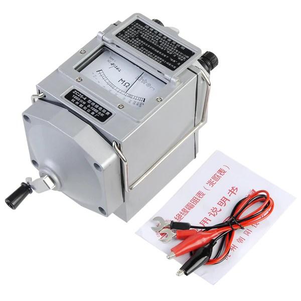 ZC25-4 1000V Elektronische Isolatie Tester weerstandsmeter ...