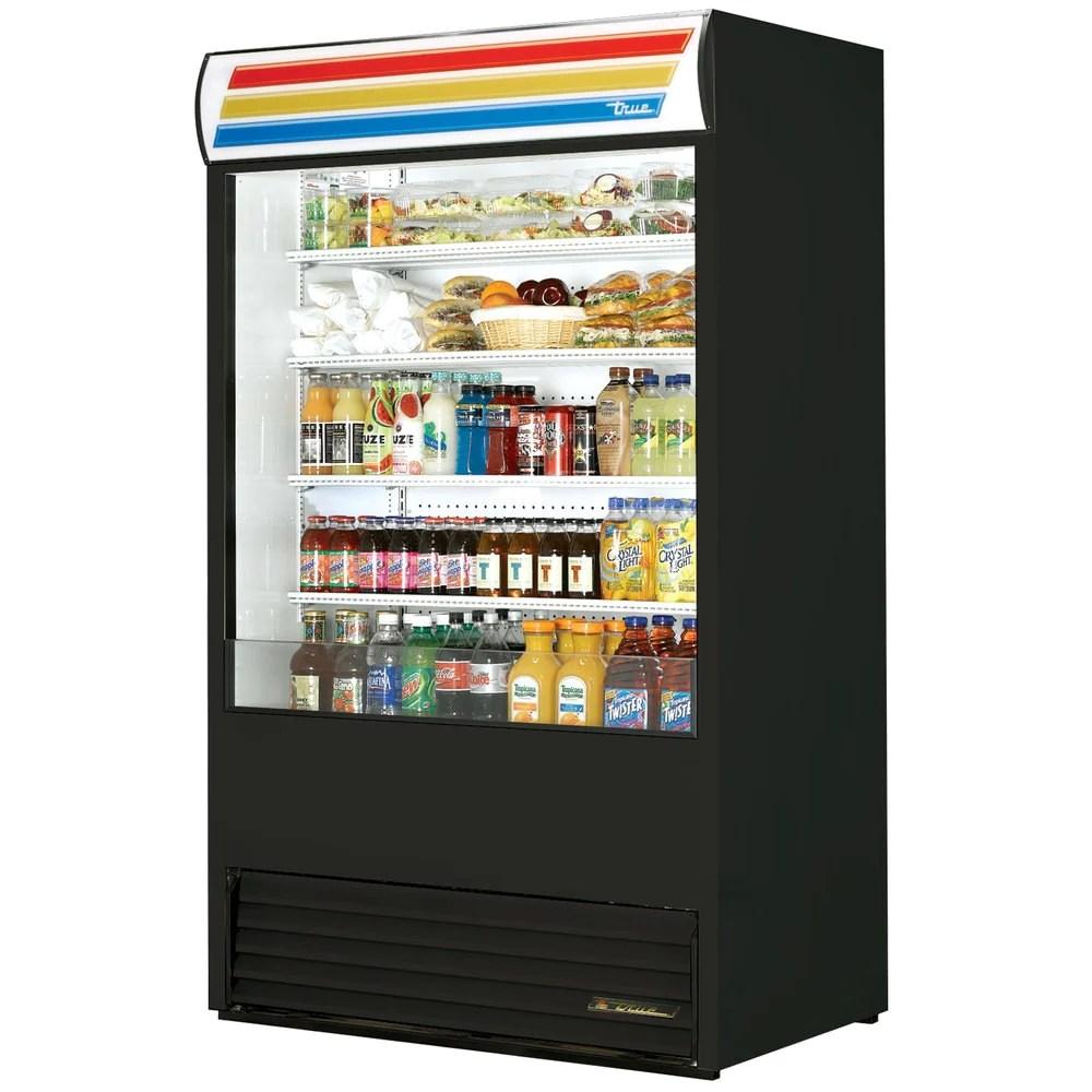 true tac 48 tsl01 48 air curtain refrigerated merchandiser