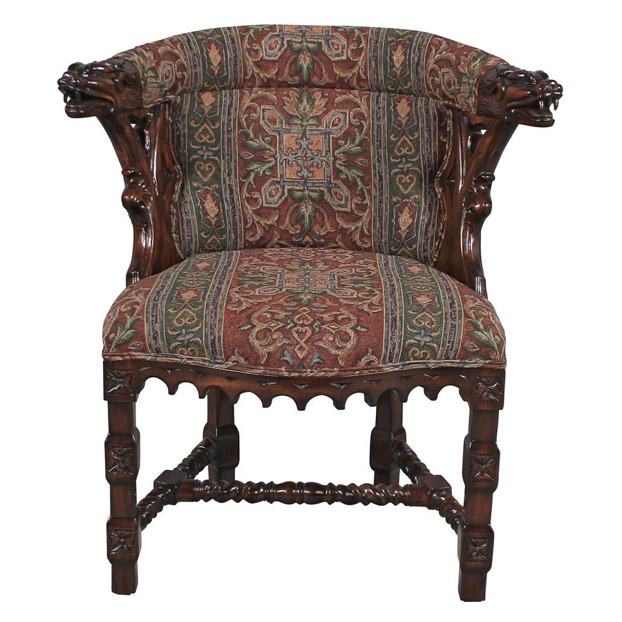 Dragon Chair Kingsman Manor Dragon Chair Tapestry Zest