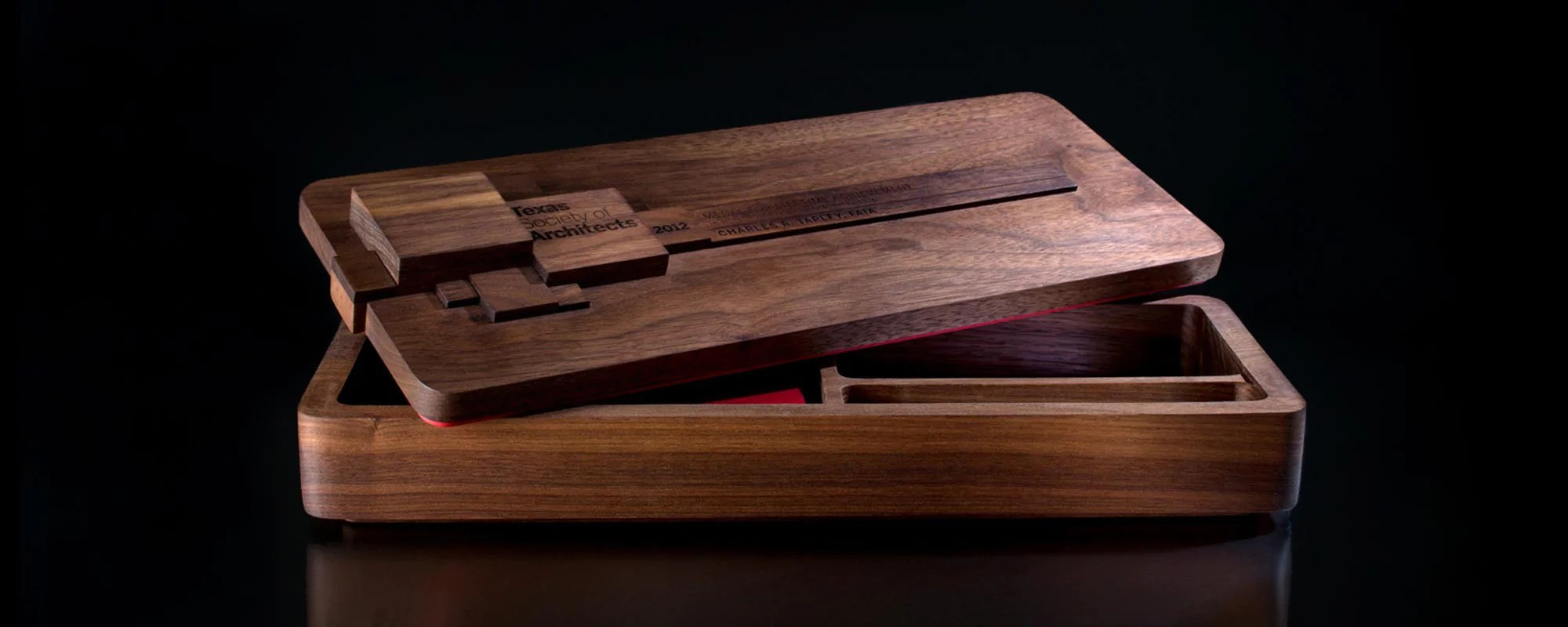 Handmade Wooden Stationery Boxes Trophyology