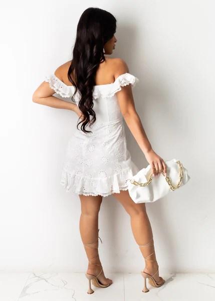 Sweet Angel Mini Dress – Diva Boutique Online