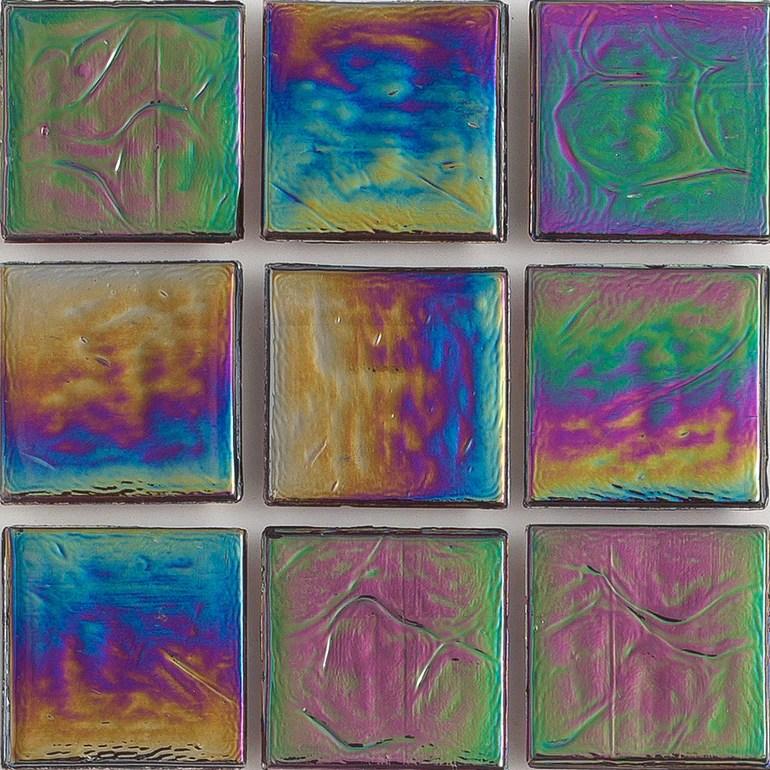 https www aquablumosaics com products garnet iridescent 1x1 glass mosaic tile