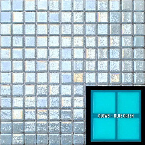 glow in the dark glass tile shop