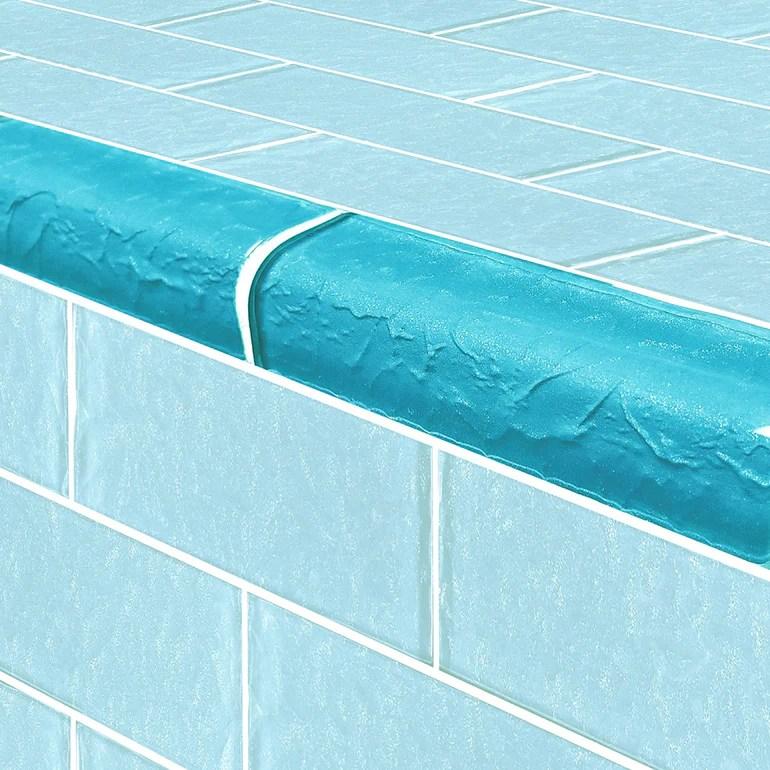 https www aquablumosaics com products turquoise trim 2 x 6 glass tile