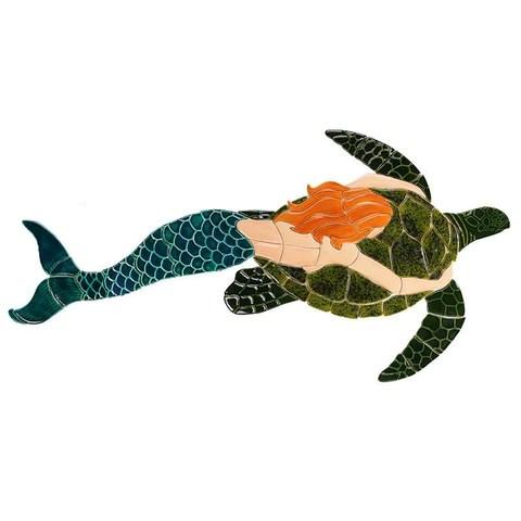 mermaid pool mosaics aquablu mosaics