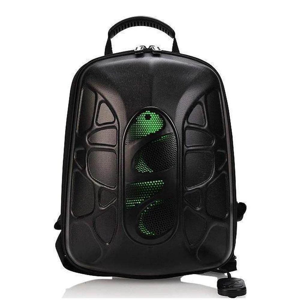 Backpack With Bluetooth Speaker & Powerbank Trakk Shell