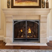 Direct Vent Fireplaces  Chimney Cricket