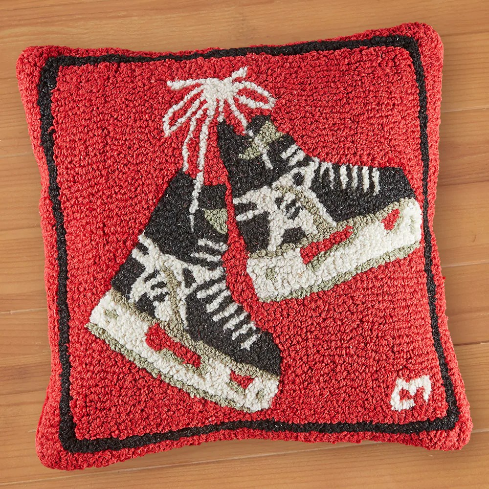 chandler 4 corners 18 hooked pillow hockey skates to the nines manitowish waters