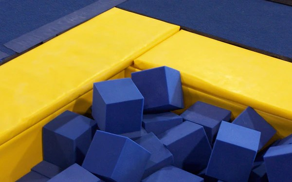 Carolina Gym Supply Foam Pit Cubes