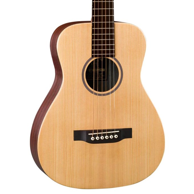 Martin Lx1e 3 4 Size Spruce Top Natural Russo Music