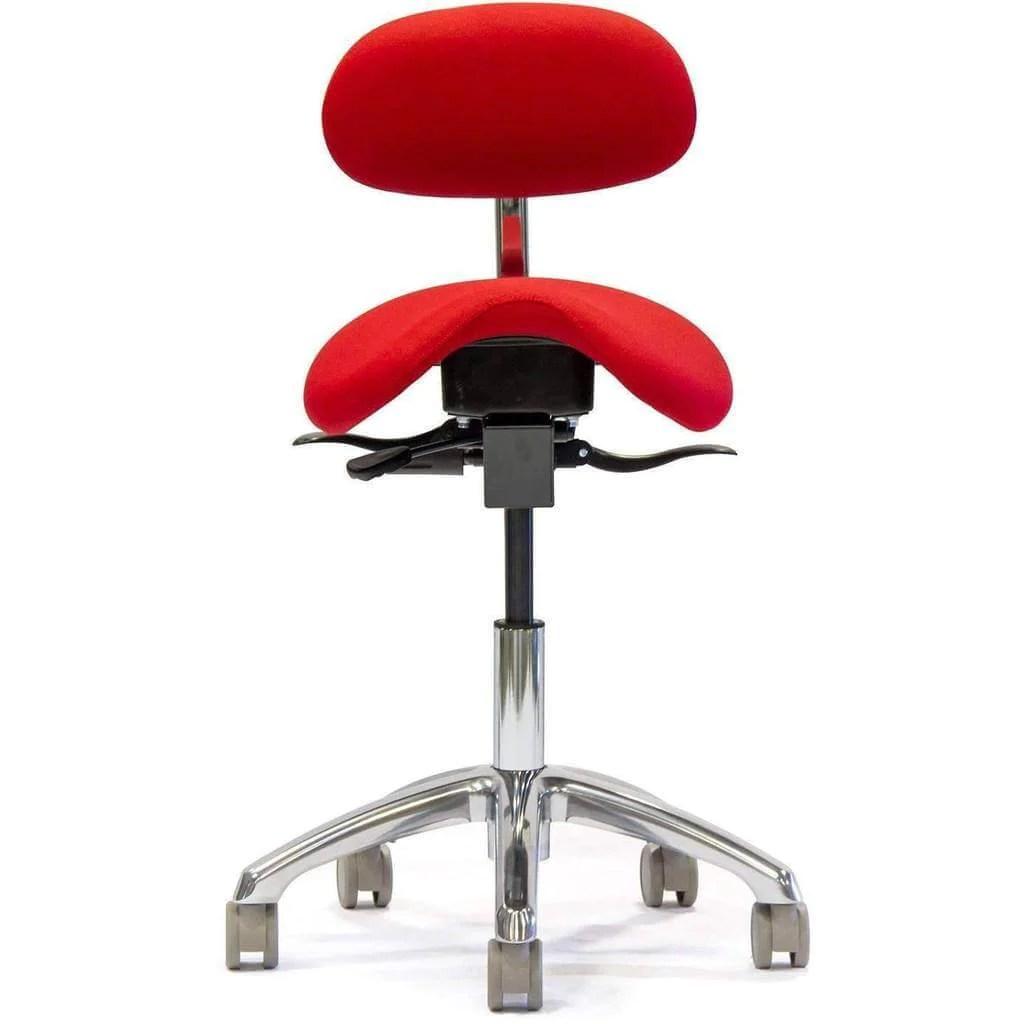 salli saddle chair folding icon english with lumbar back sithealthier