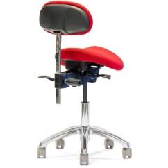 Salli Saddle Chair Time Out English With Lumbar Back Sithealthier
