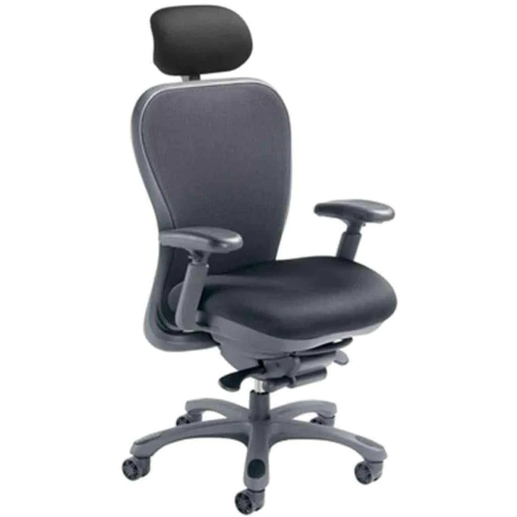 ergonomic chair justification linen dining room chairs cxo mid back executive with headrest 6200d sithealthier com