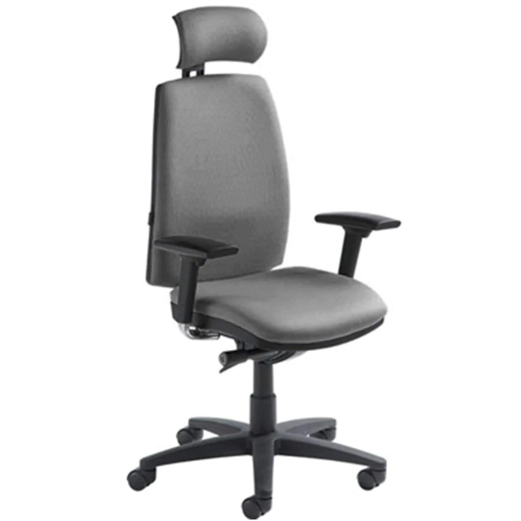 office chair that sits higher used outdoor chairs veronna high back executive task sithealthier