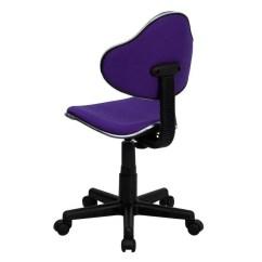 Purple Task Chair Jet 3 Power Ergonomic Pneumatic Seat Height Adjustment Swivel Sithealthier Com