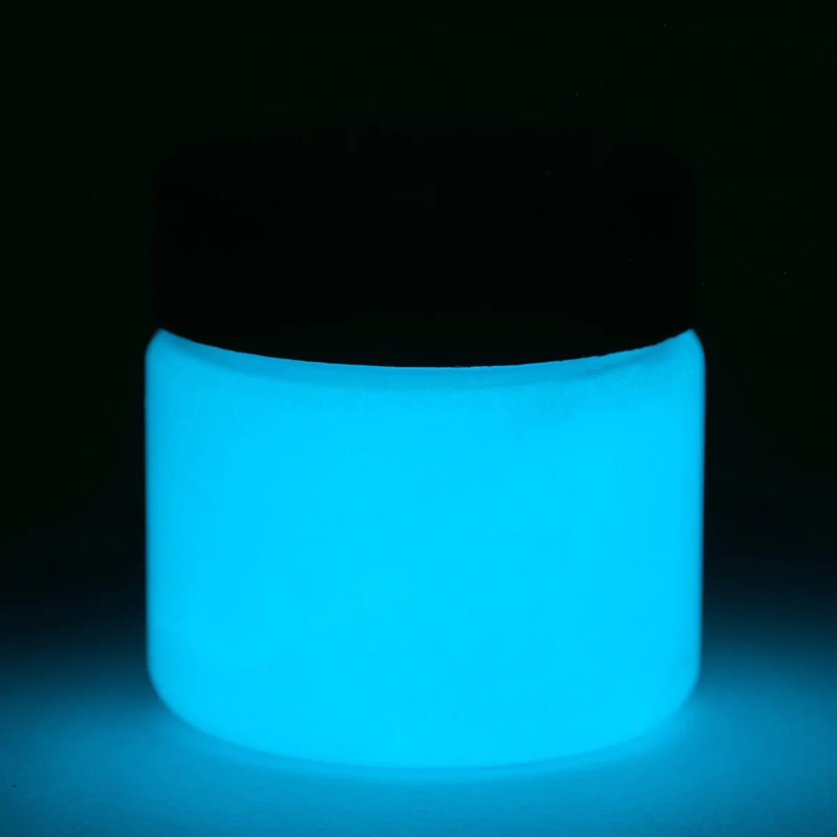 Glow In Dark Fluorescent Blue Paint - Uv And