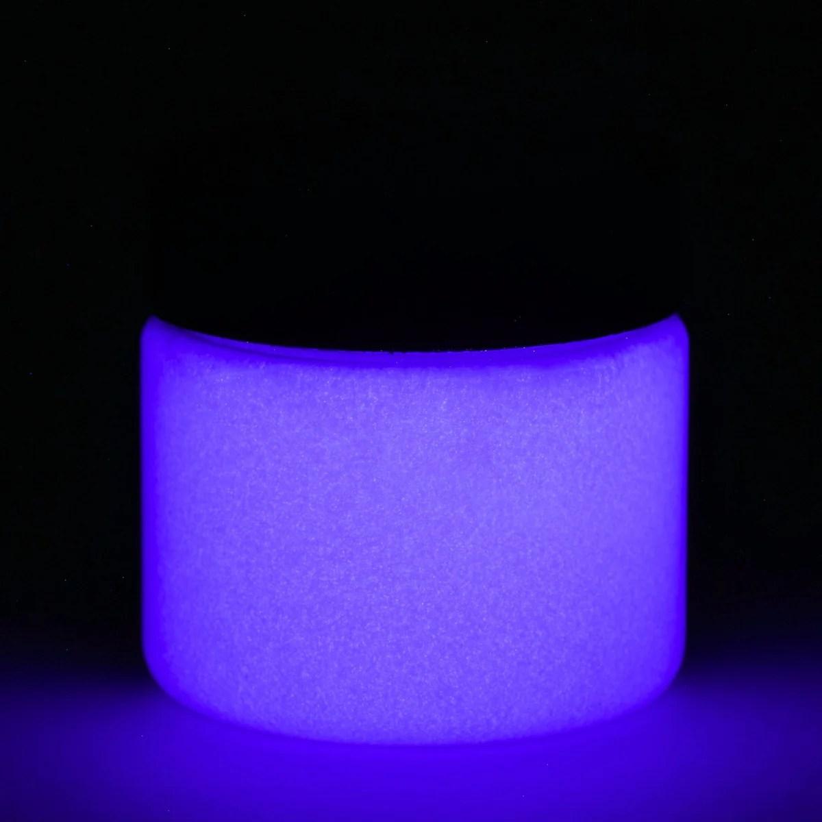 Fluorescent Purple Glow Paint - In Dark And Uv