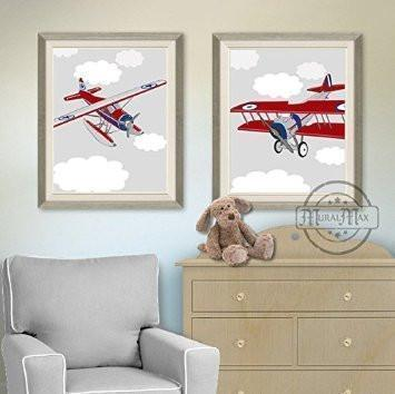 airplane nursery prints airplane