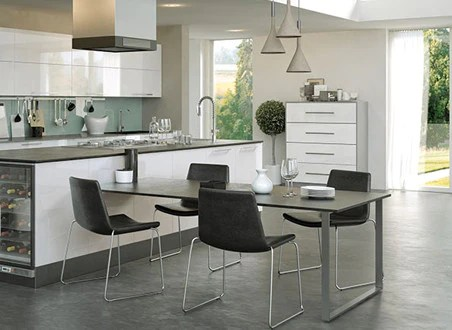 Firbeck Supergloss White High Gloss Kitchen Doors  Just