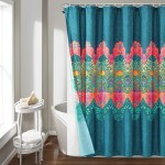 Boho Chic Shower Curtain 14 Piece Complete Set Lush Decor Www Lushdecor Com Lushdecor