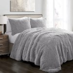 Emma Faux Fur 3 Piece Comforter Set Lush Decor Www Lushdecor Com Lushdecor