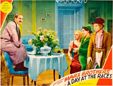 Image result for a day at the races movie poster