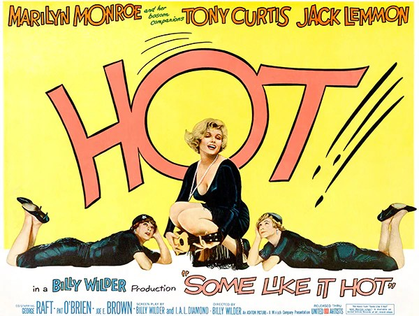 Image result for SOme Like it Hot 1959 poster