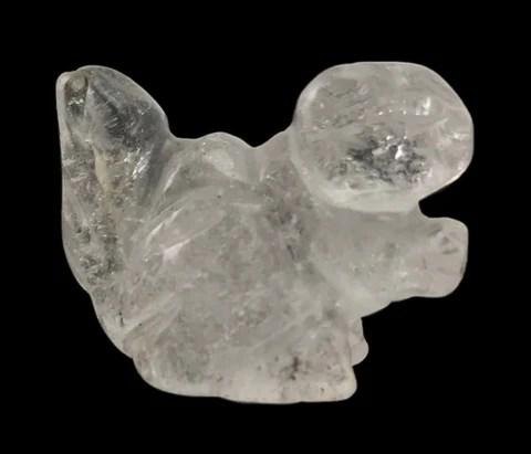 squirrel mini gemstone hand