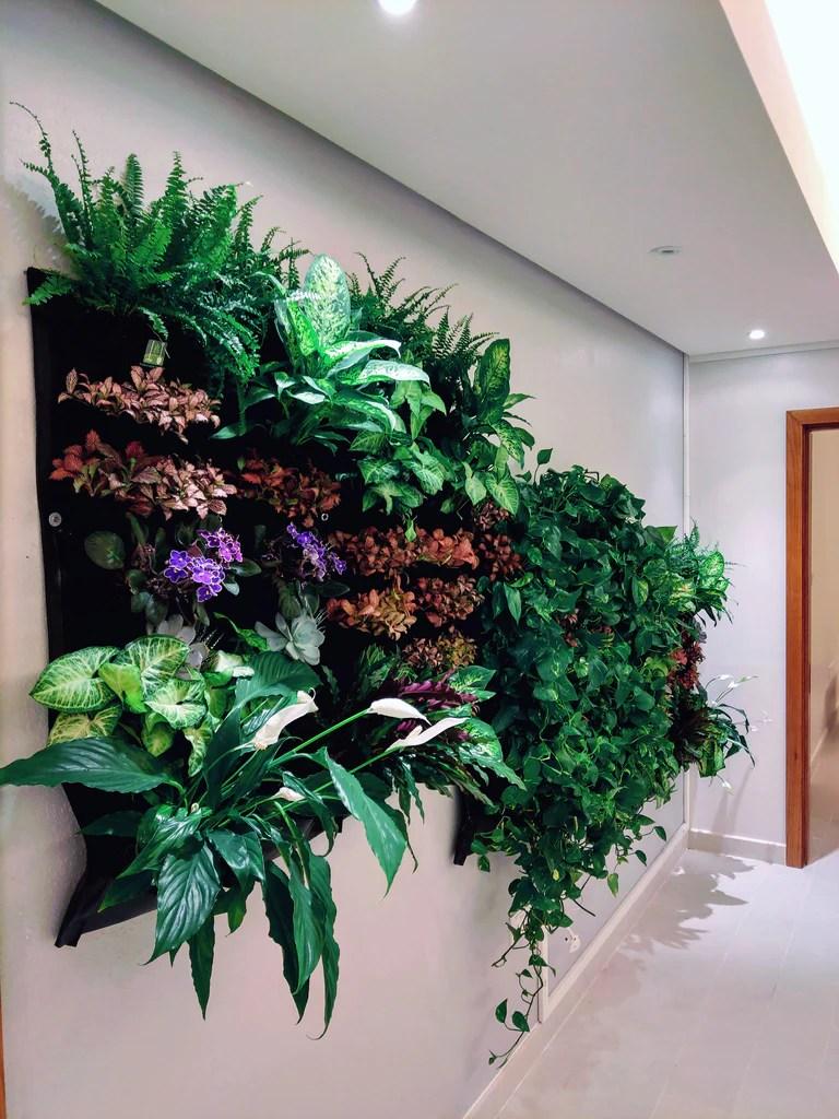12 Pocket Indoor Waterproof Vertical Living Wall Planter Www Delectablegardenshop Com
