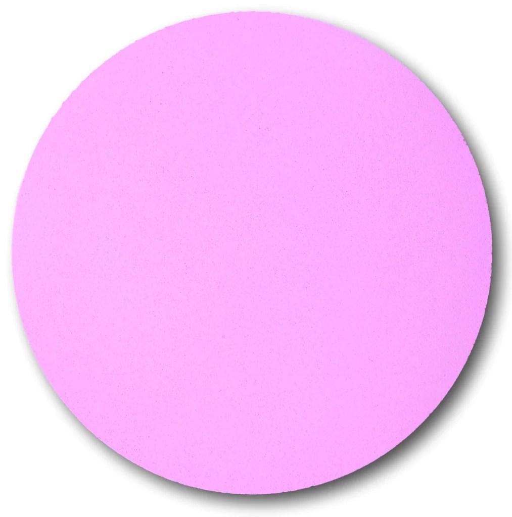 pretty pink circle pin