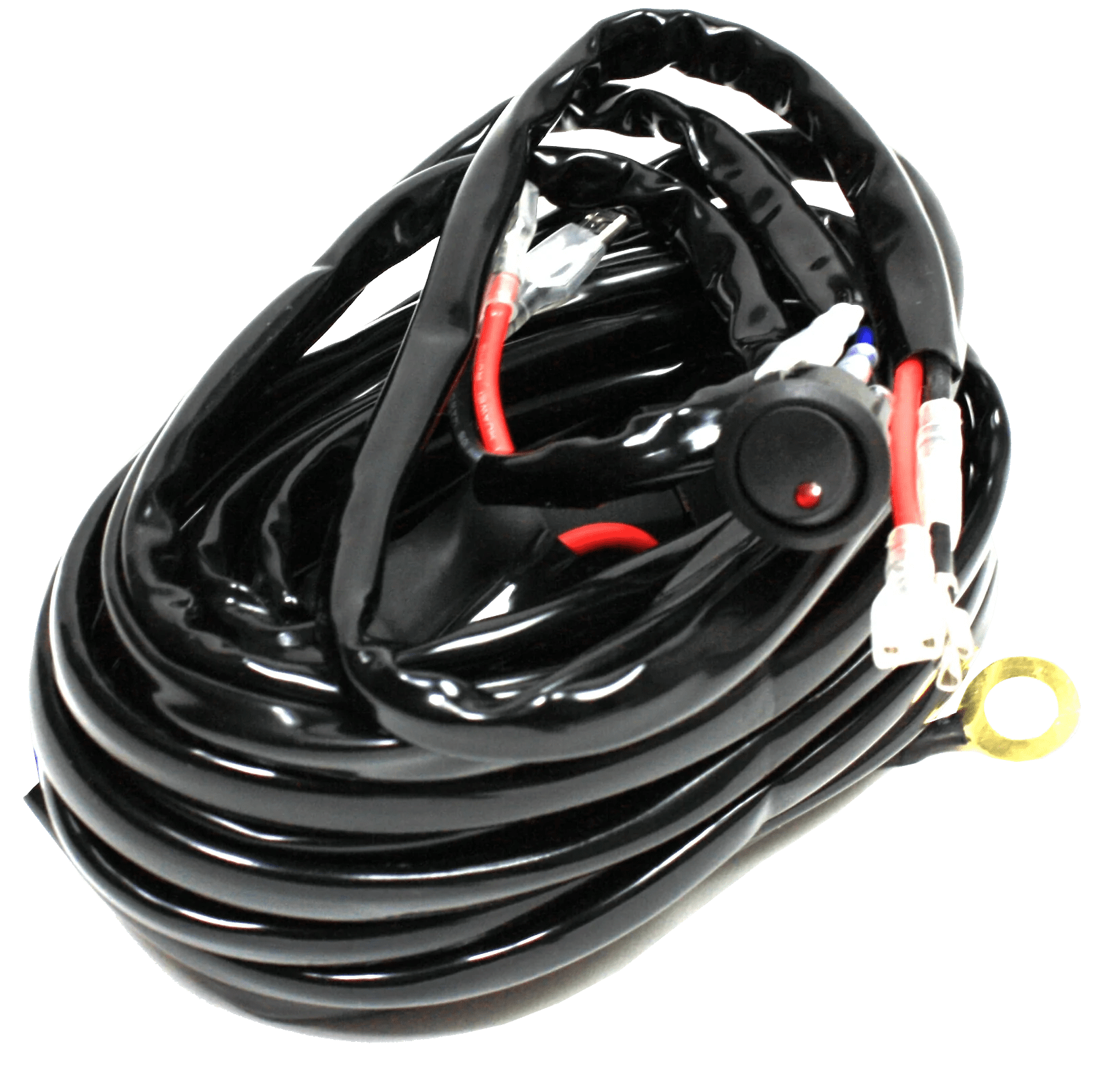 hight resolution of premium led wiring harness with relay