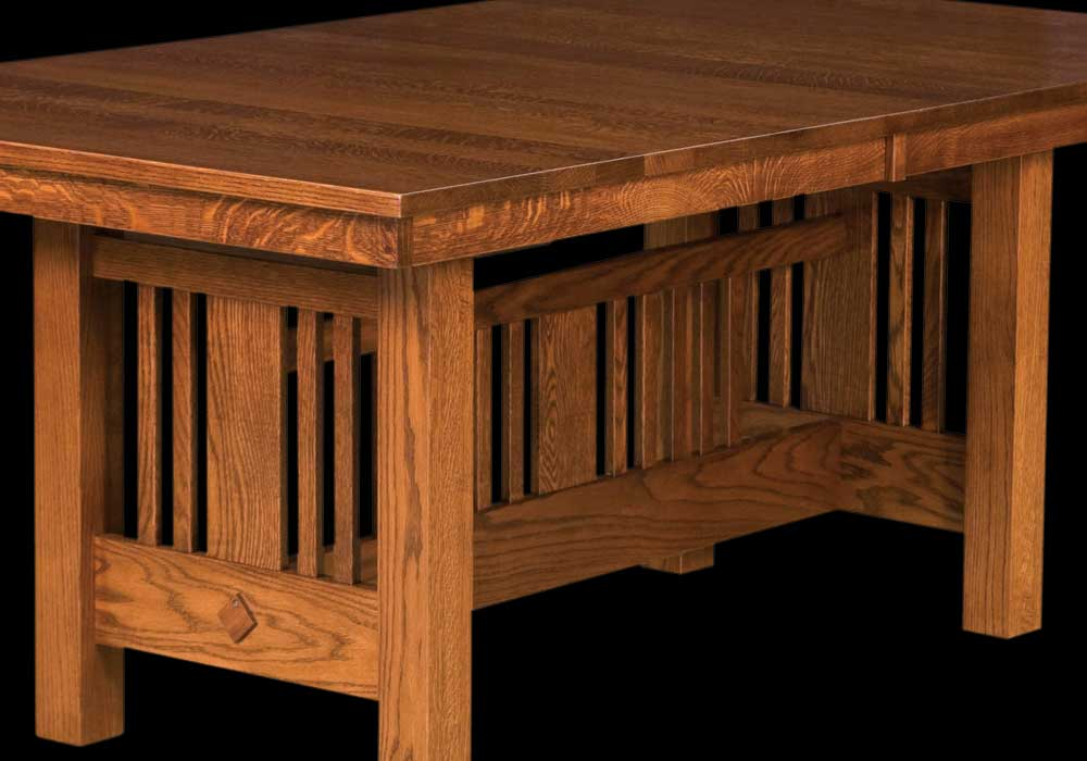 craftsman style chairs adele accent tub chair american furniture styles arts crafts mission and kingsbury trestle table base detail home timber