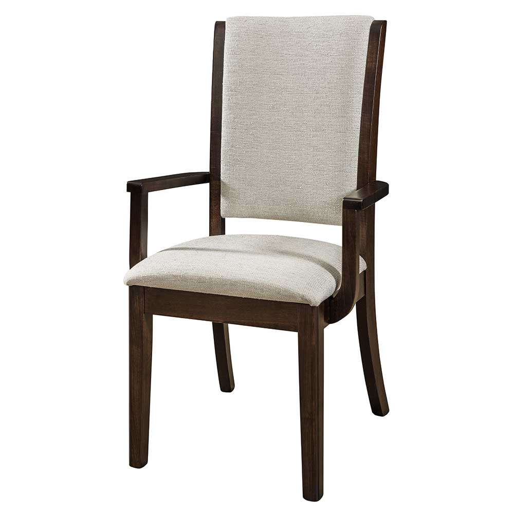 upholstered arm dining chair folding wooden rocking sherita home and timber