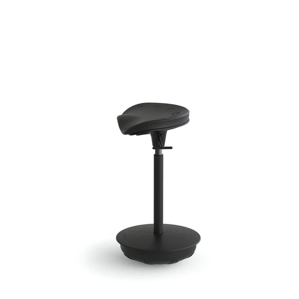 Focal Upright Pivot Seat FWS1000BK  Ergonomic Wobble