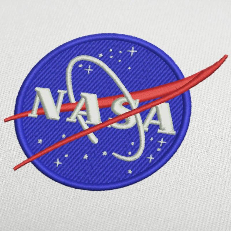 Nasa Logo Embroidery Design