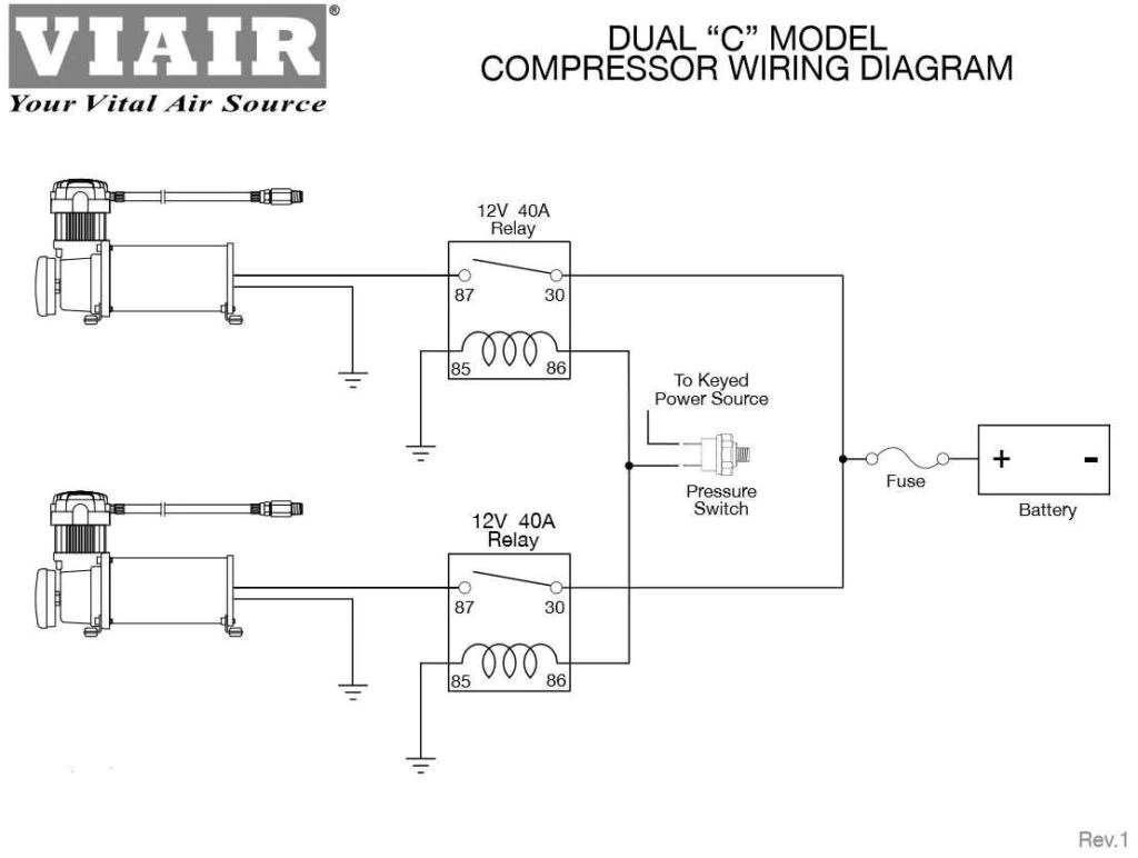 viair dual compressor wiring diagram [ 1024 x 772 Pixel ]