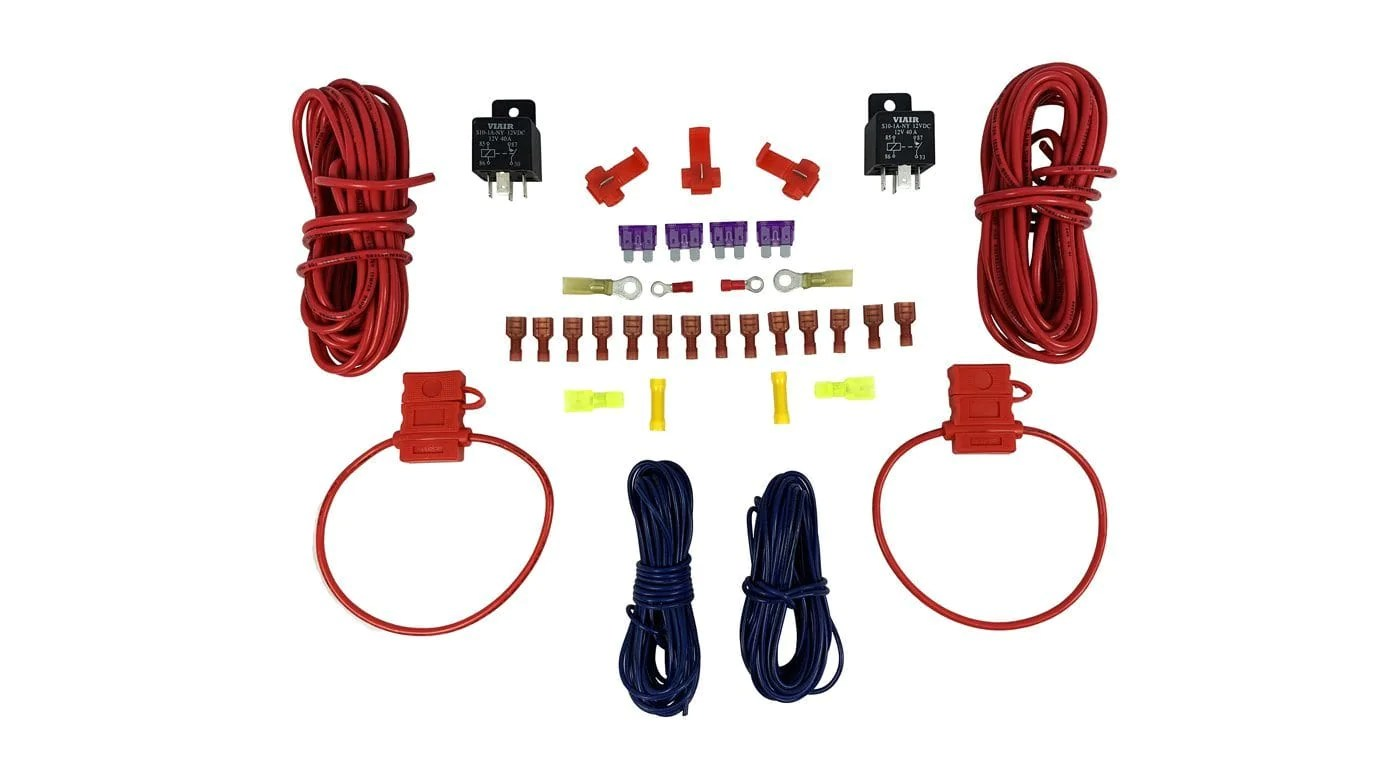 small resolution of 40 amp viair dual compressor wiring kit