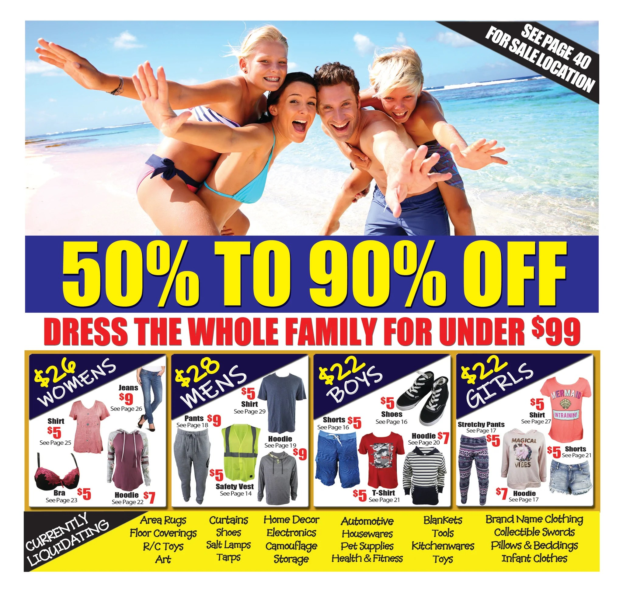 Liquidation World Flyer Current Flyer